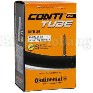 Continental MTB 29er 60mm Presta Quality Inner Tube