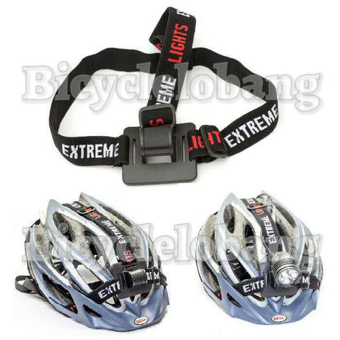 Cycle Light 3 Band Elastic Head Strap