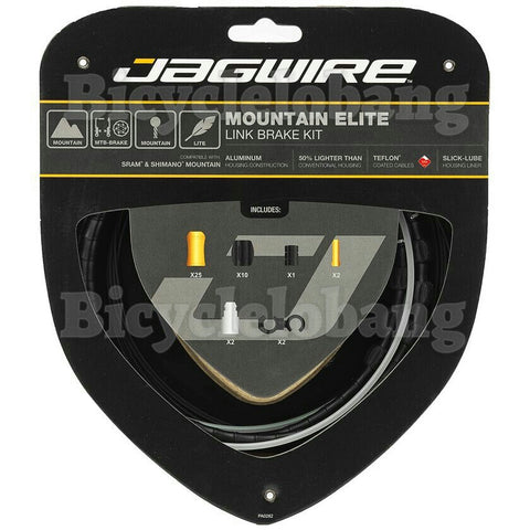 Jagwire Mountain Elite Link Brake Cable Set