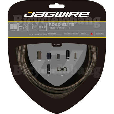Jagwire Road Elite Link Brake Cable Set