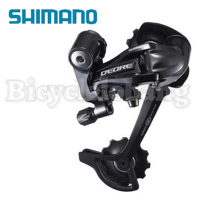 Shimano Deore RD-M591-SGS Rear Derailleur black long 9-speed