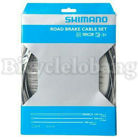Shimano Road Brake Cable Set - Front & Rear
