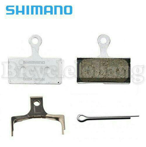 Shimano XTR-XT-SLX-Alfine (G02A) Disc Resin Brake Pad
