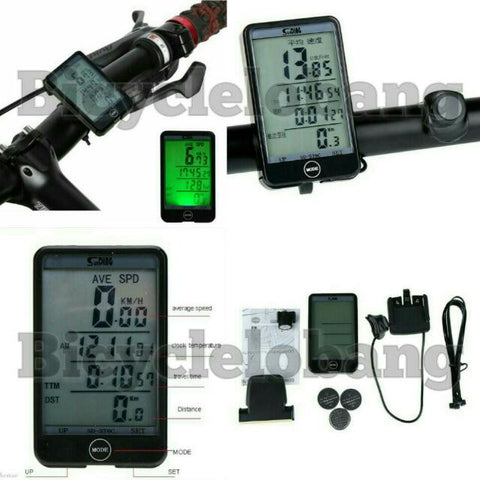 Stylish Wireless Speedometer with Backlight