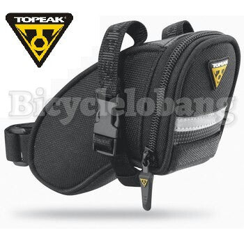 Topeak Aero Wedge Pack Strap Micro Saddle Bag