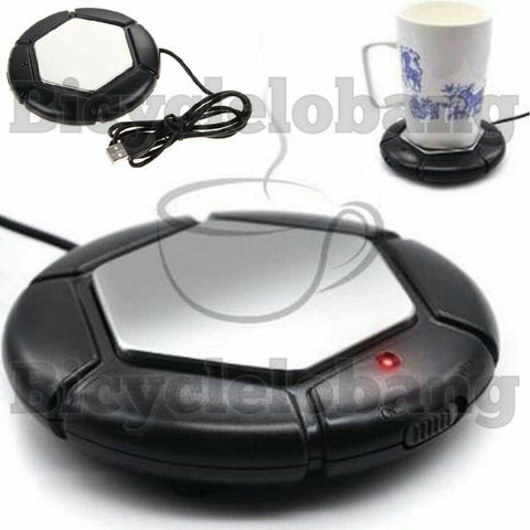 USB Warmer Plate Hot Drinks Beverage Heater