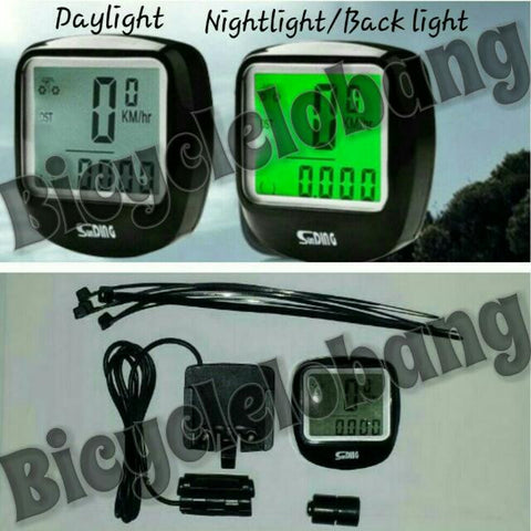 Wired Speedometer with Backlight