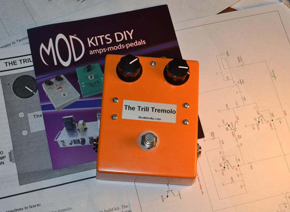 New Kit: The Trill Tremolo Pedal from MOD Kits DIY