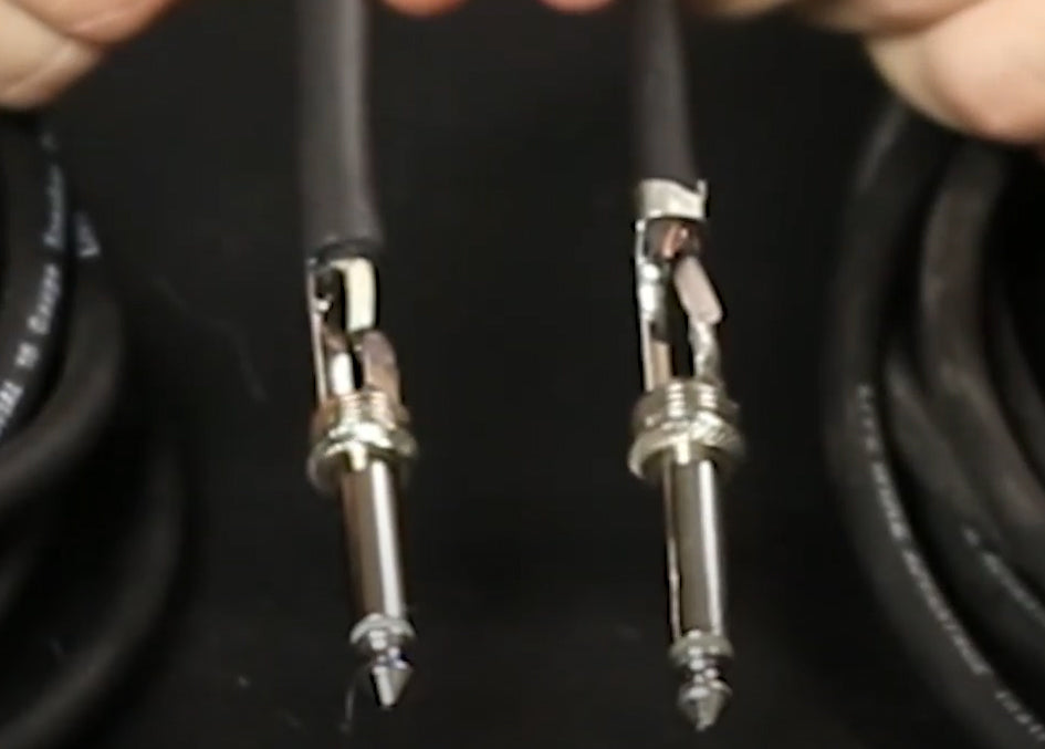 Instrument Cables vs Speaker Cables: What's the Difference?