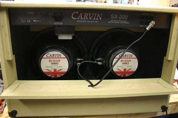 The Repair Bench: Carvin SX200 Guitar Amplifier