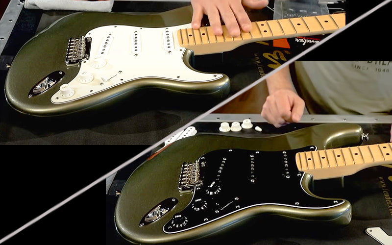 How to Replace Stratocaster Pickup Covers and Install Fender Accessory Kit