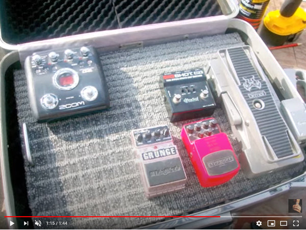 Build Your Own $25 Guitar Pedal Board