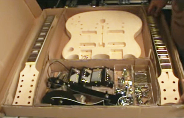 Video Review of the Cozart Guitar Kit SG Doubleneck Electric