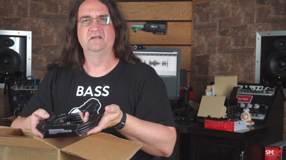 Unboxing Hosa Cables with Glenn Fricker of SpectreSoundStudios