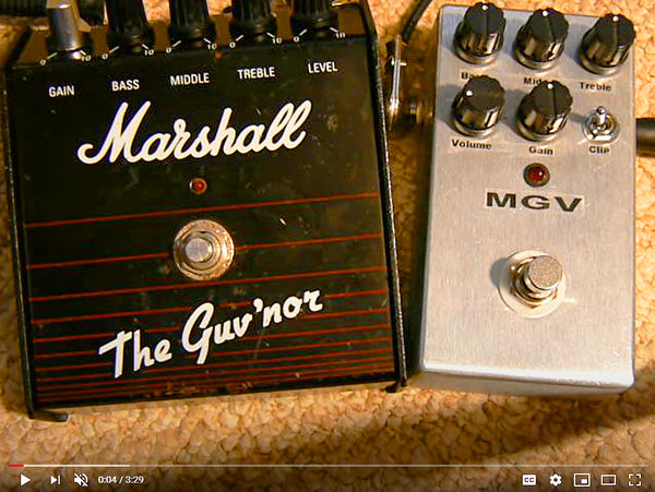Marshall Guv'nor Distortion Pedal Clone Kits