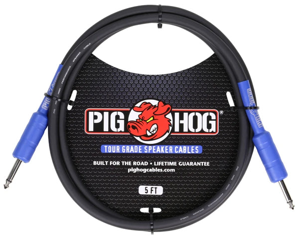 Pig Hog PHSC5 Guitar Amplifier Speaker Cable