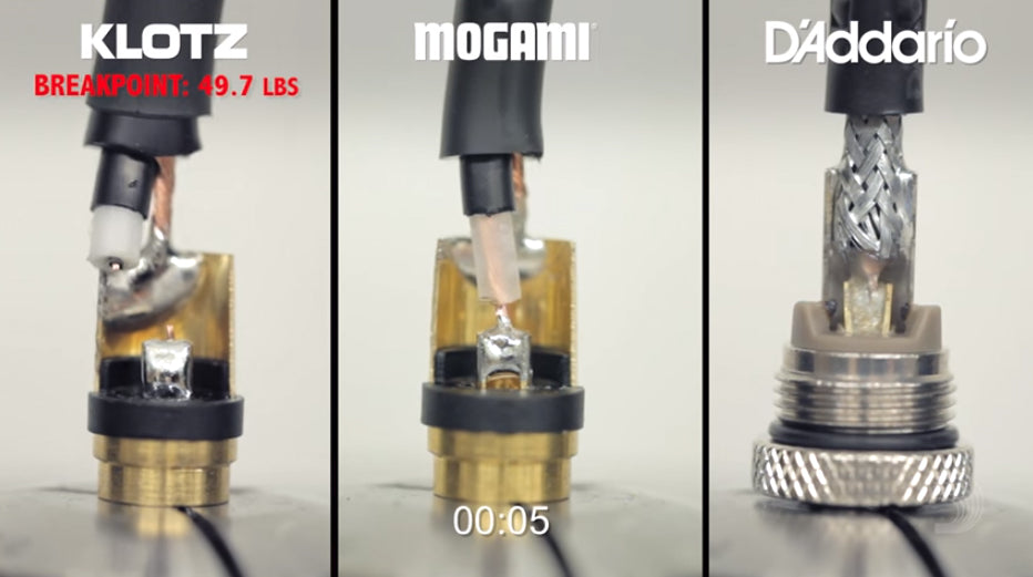 Guitar Cable Unfair Torture Test: D'Addario Planet Waves American Stage vs Klotz LaGrange vs Mogami Gold