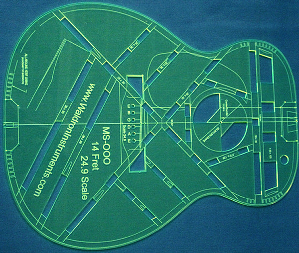 Build an Acoustic Guitar Kit from Waldron Instruments