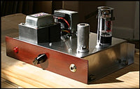 amp maker woodface 55