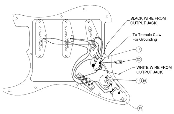 Create Your Own Vintage Stratocaster Guitar Kit