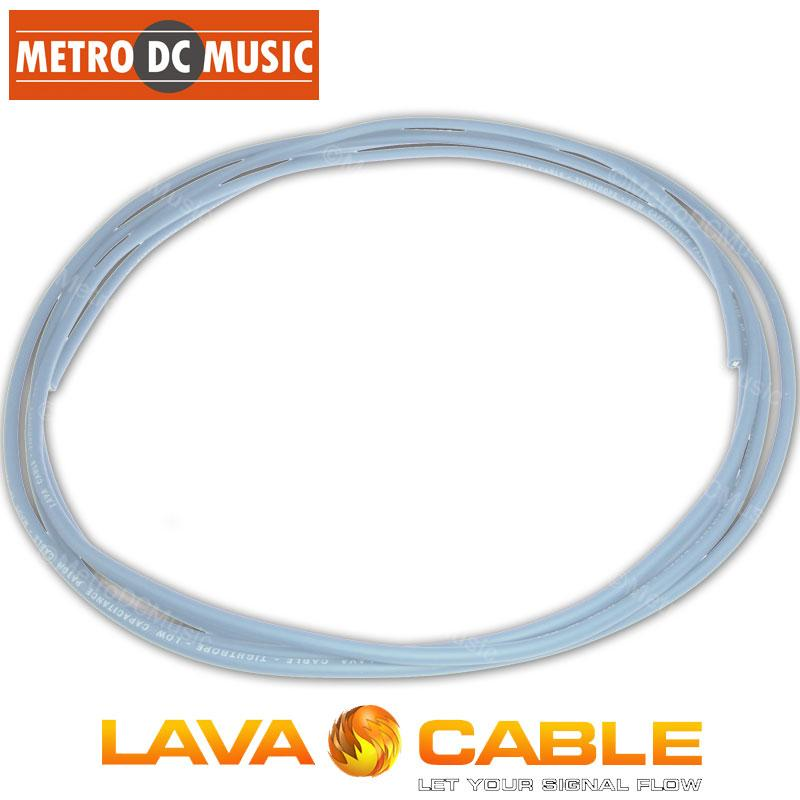 LAVA CABLE SOLDER-FREE PATCH CABLES 10 feet Lava Cable BLUE Tightrope Cable For Lava Tight Rope Plugs Pedal Patch
