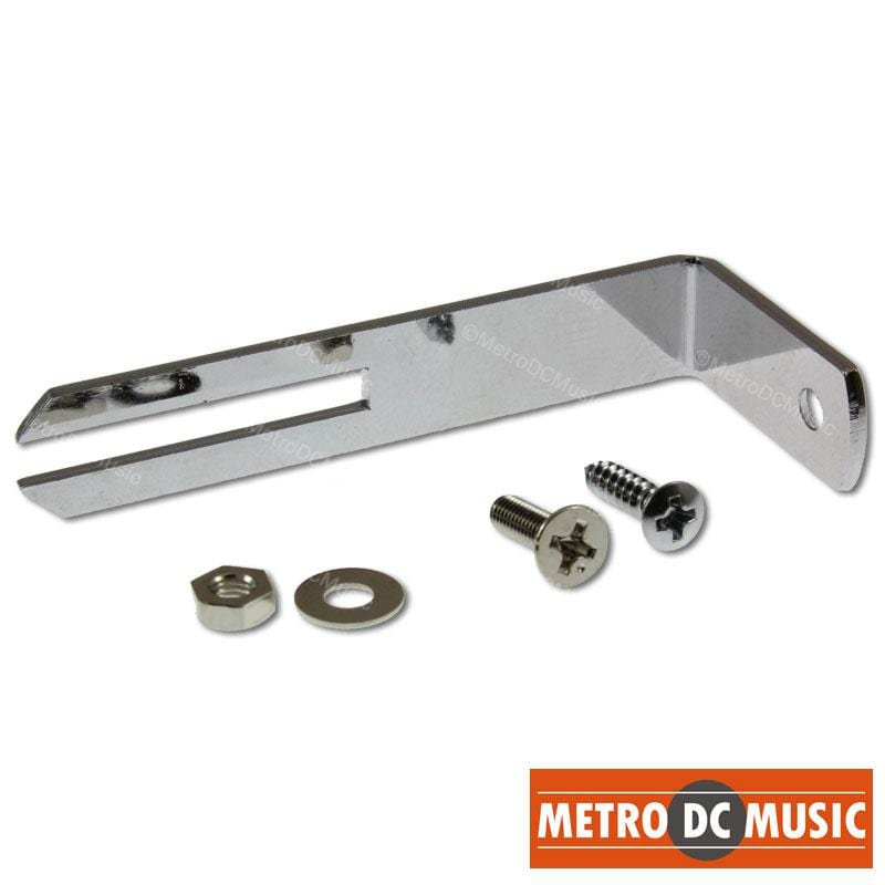 METRO DC MUSIC PICKGUARD BRACKETS Chrome Pickguard Bracket for Les Paul with Screws, Nut and Washer NEW