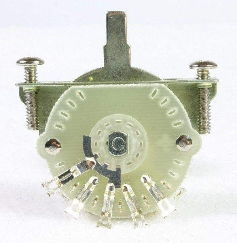 METRO DC MUSIC SWITCHES Tritan 4-Way Switch for Telecaster with Switch Tip and Mounting Screws NEW