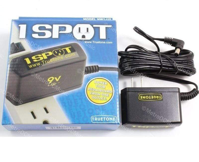 TRUETONE PEDAL POWER & CABLES Visual Sound 1-SPOT Guitar Effects Pedal Power Supply Adapter NW1-US Truetone
