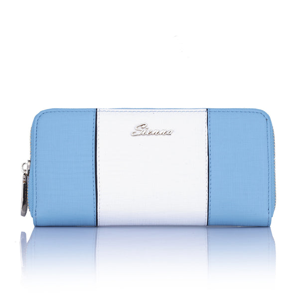 Sienna SNWLT616 BL Wallet Colour White/Blue