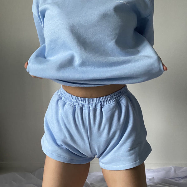 Baby Blue Sporty Shorts