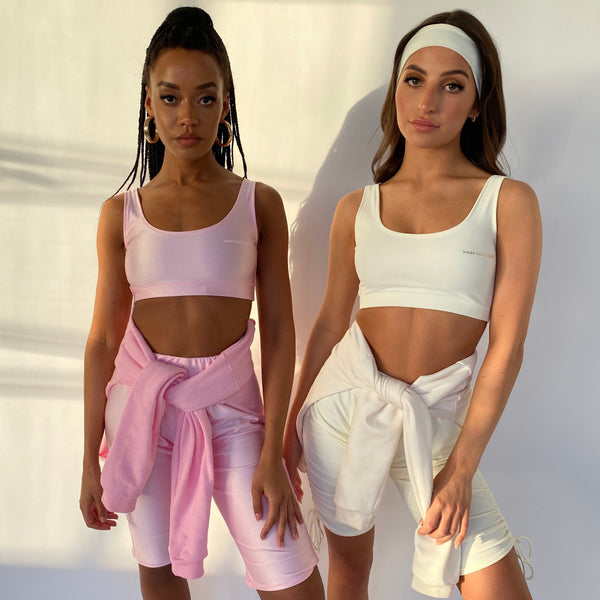 Custom Sporty Crop (Various Fabrics)