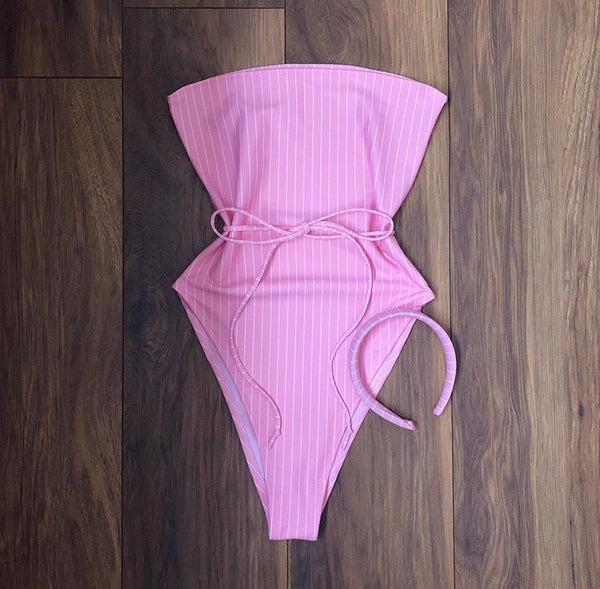 Pink Pinstripe Body (Various Styles)