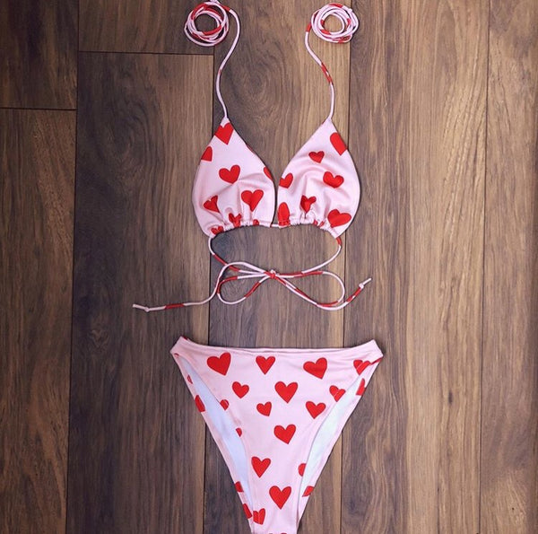 Sweetheart Bikini Set (Various Options)