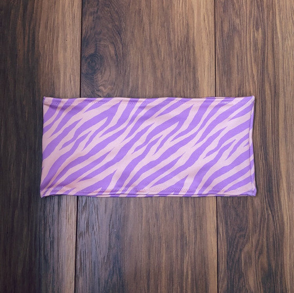 Lilac Zebra Top (Various Styles)