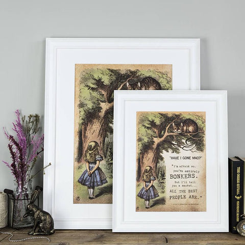 Alice in Wonderland Art Prints Online Uk