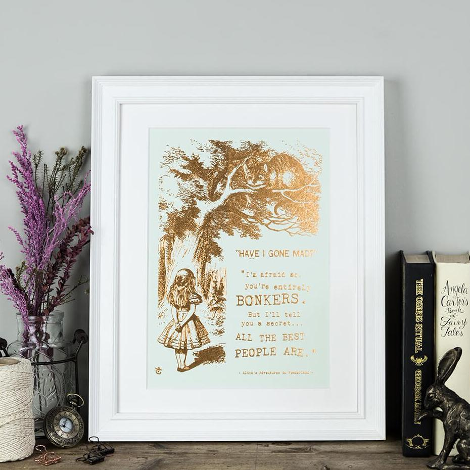 Alice In Wonderland Art Prints Online