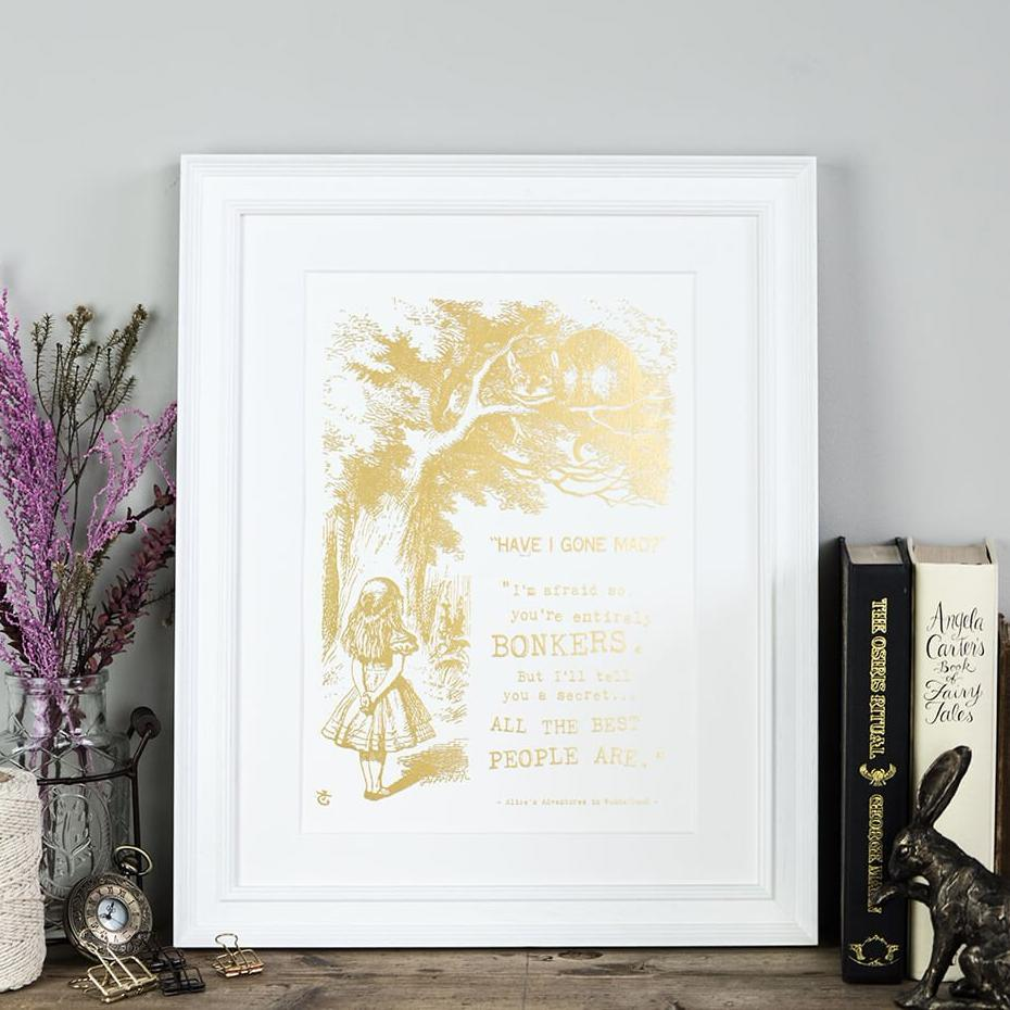 Alice In Wonderland Art Prints Uk