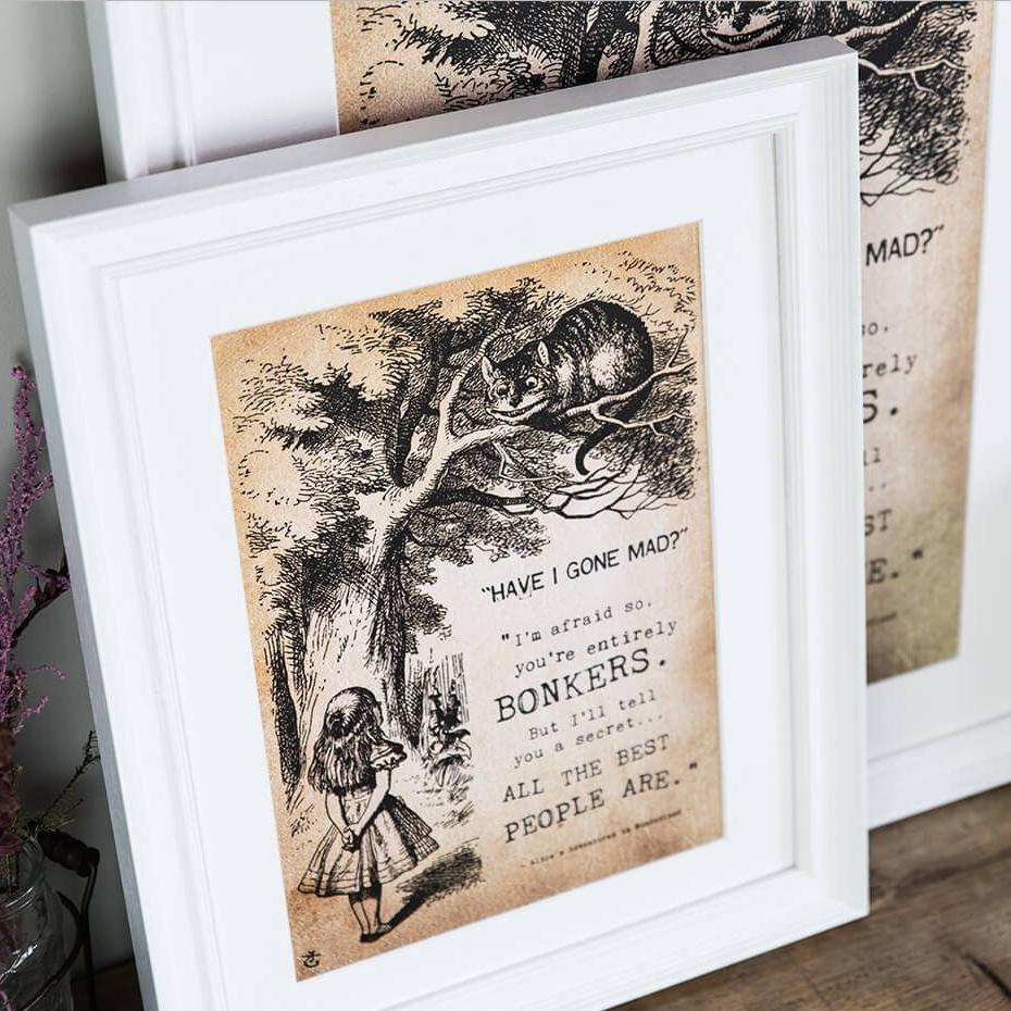 Vintage Alice In Wonderland Art Prints