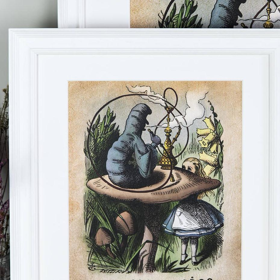 Alice in Wonderland Prints - 'It would be so nice' A4 and A3 Colour