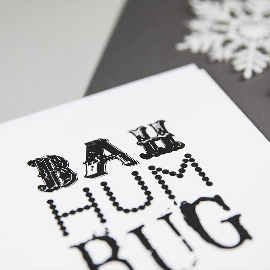 'Bah Humbug' Christmas Card