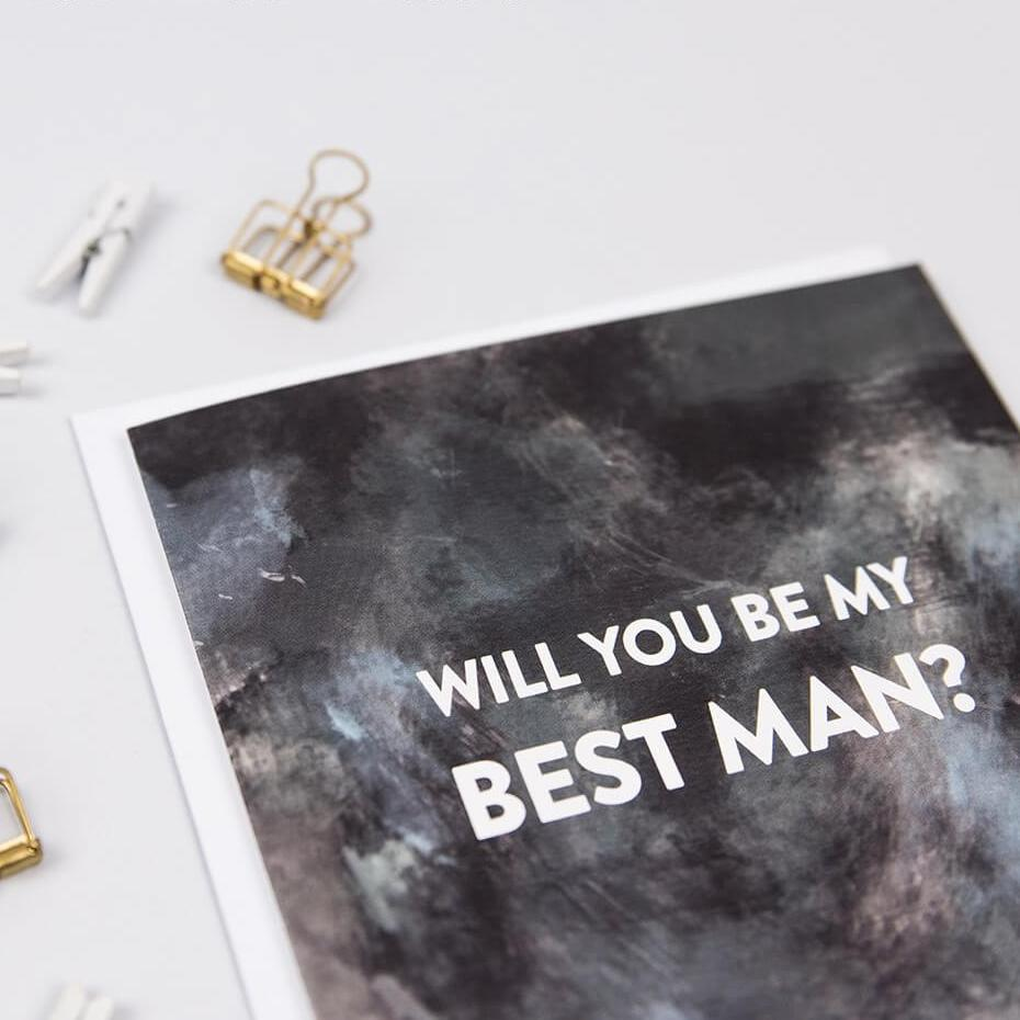 will you be my best man proposal card contemporary cards i am