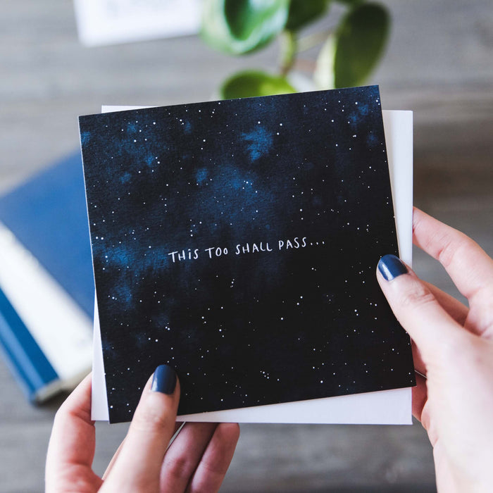 'This Too Shall Pass' Thinking of You Card