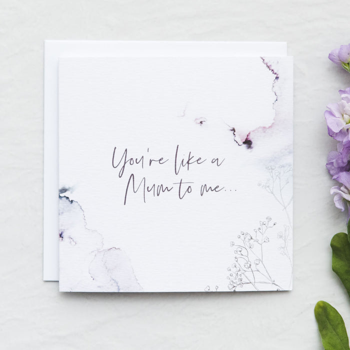 'You're like a mum to me' Alternative Mother's Day Card