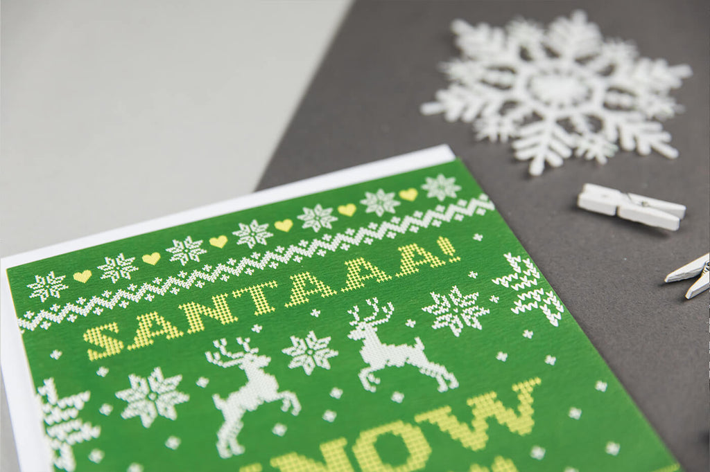 Buddy The Elf Christmas Cards - Santa I Know Him! Elf The Movie