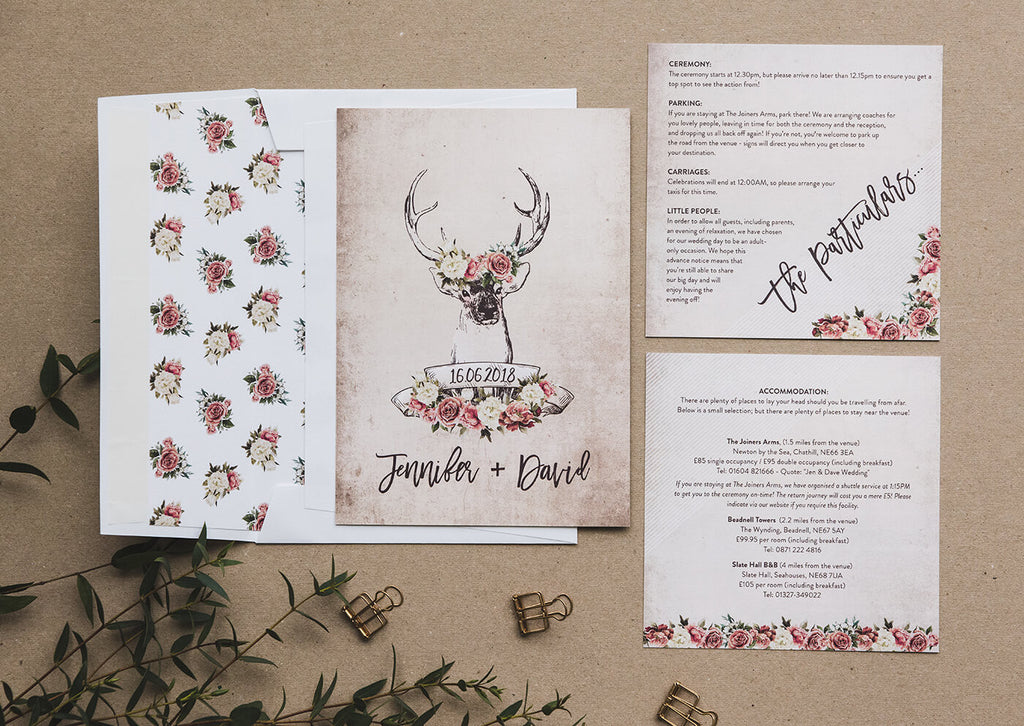 wedding invitations country