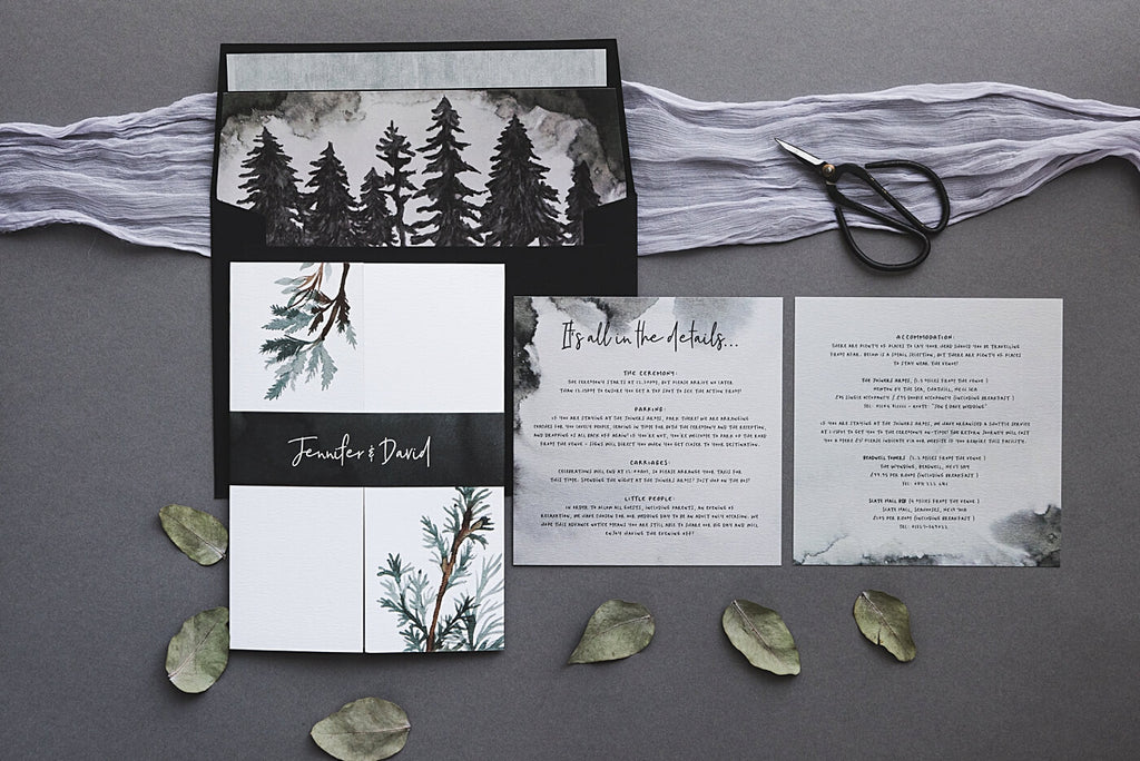 Full Winter Forest Wedding Package