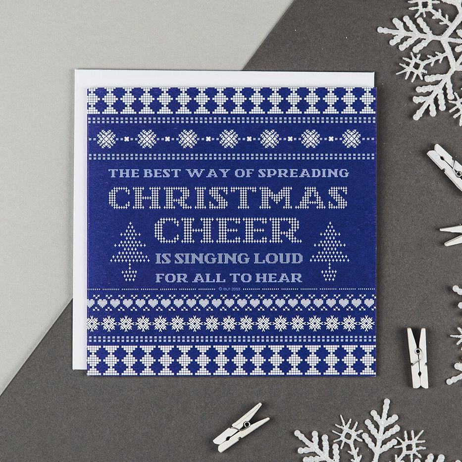 Buddy The Elf Christmas Cards - The Best Way Of Spreading Christmas Cheer