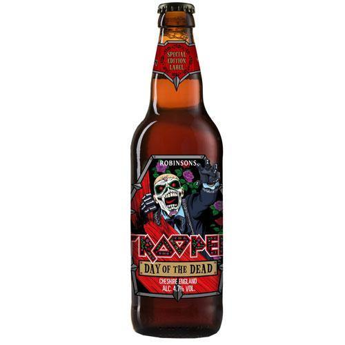 Day of the Dead Edition Trooper Beer 4.7% ABV (8 x 500ml)