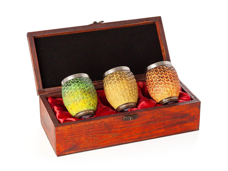 Game of Thrones Dragon Egg Shot Glasses