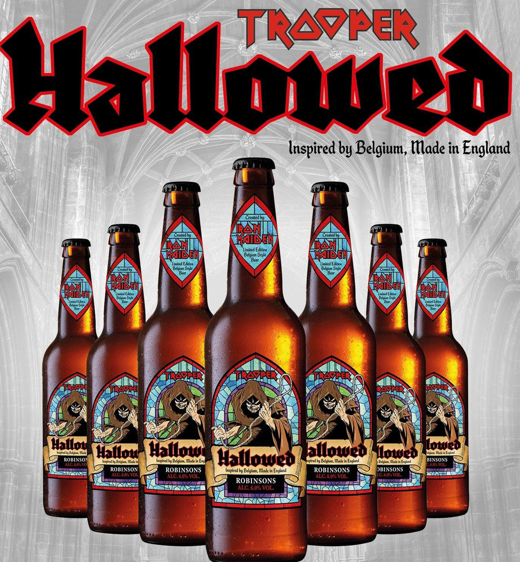 Iron Maiden Hallowed Beer 8 x 330ml Bottles (6%)